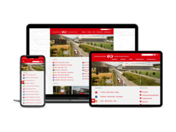 Corporate KMU Website Verkehrsbetriebe Biel, webgearing AG Solothurn