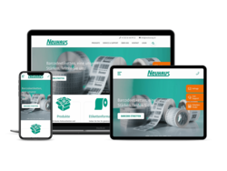 Corporate KMU Website Neuhaus AG, webgearing AG Solothurn