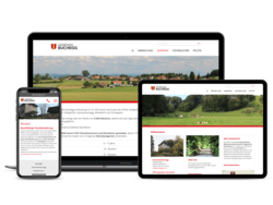 Corporate Website Gemeinde Buchegg, webgearing AG Solothurn