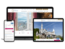 Corporate Hotel Website Chateau Gütsch Luzern, webgearing AG Solothurn
