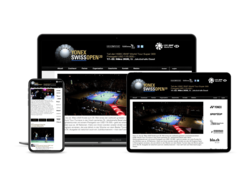 Corporate Website Badminton Swiss Open