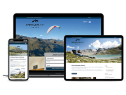 Corporate Hotel Website Spenglers Davos, webgearing AG Solothurn