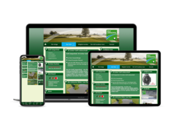 Corporate KMU Website Golf Limpachtal, webgearing AG Solothurn