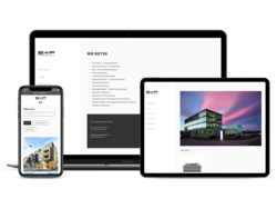 Corporate KMU Website E+P Architekten durch webgearing AG Solothurn