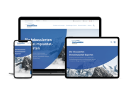 Corporate KMU Website Thommen Medical AG, webgearing AG Solothurn