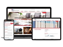 Corporate KMU Website Gruppenpraxis herrenmatt, webgearing AG Solothurn