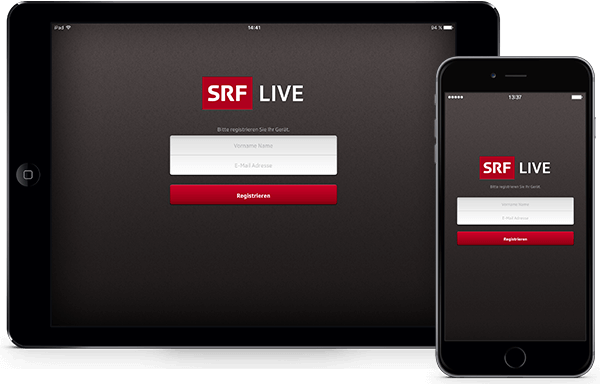 Mobile Intranet App SRF LIVE