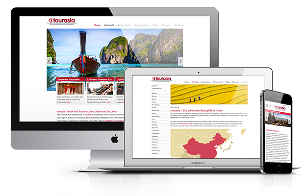 Corporate Website mit Responsive Design